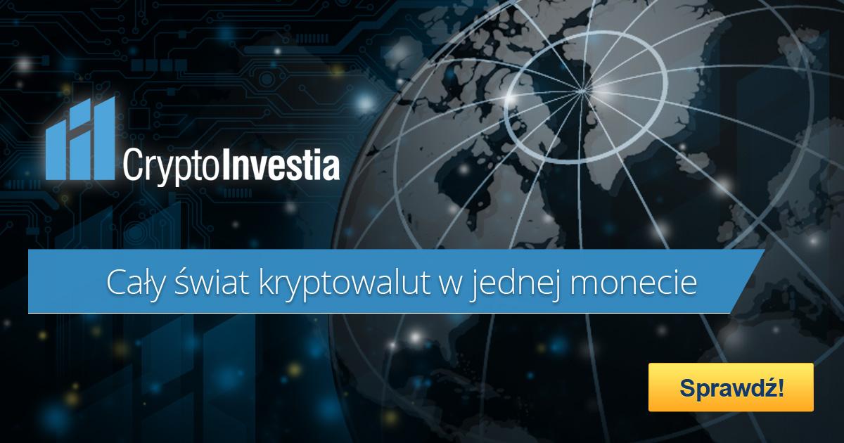 CryptoInvestia - cały świat kryptowalut w jednej monecie
