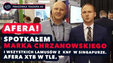kryptowaluty, tokeneo, smart trader, MAREK CHRZANOWSKI, KNF, afera, [Afera] Spotkałem Marka Chrzanowskiego i wszystkich lamusów z KNF w Singapurze. Afera XTB w tle.