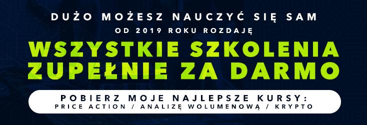 Darmowe szkolenia Price Action, Analiza wolumenowa, Kryptowaluty!