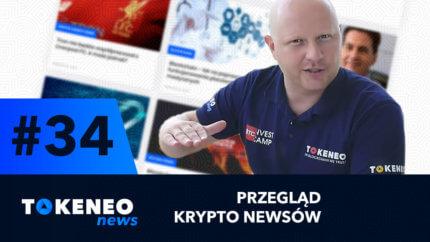 Tokeneo News#34 – Informacje ze świata kryptowalut