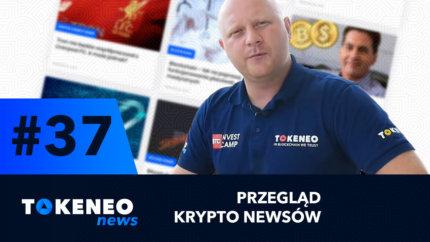 Tokeneo News#37 – Informacje ze świata kryptowalut