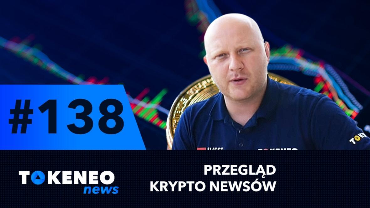 Bitcoin spada, Cardano czeka duży wzrost, duze zmiany w Tokeneo #138